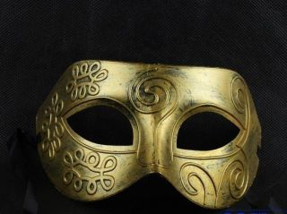 Halloween Masquerade Party Mask Retro Style Greece Roman Mask Cosplay Masks