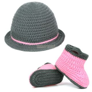 Newborn Baby Girl Boy Crochet Knit Hat Cap Costume Photography Prop Outfit EP98