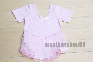 Lovely Baby Toddler Girl Pink Ballet Dress Costume One Piece 3 15 Months