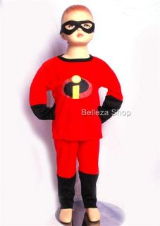 Halloween Party The Incredibles Cosplay Costume Sz 6 7Y