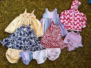 Baby Toddler Girls 18 24 Month Clothes Old Navy Gymboree Dresses Jacket Swimsuit