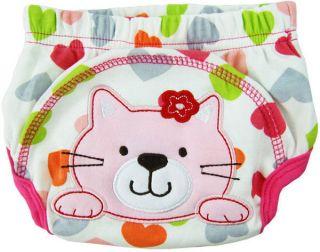 1pc Baby Boy Girl Infant Potty Training Pants Cloth Diaper Underwear Bottoms