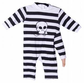 Funny Scary Mutant 3 Arm Baby Skull Boys Girls Halloween Costume Infant