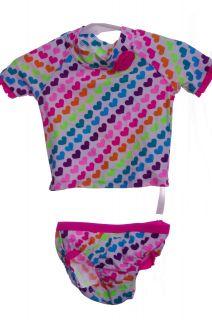 TCP Baby Girls Bikini 2 Piece Swim Bathing Suit Lycra Size 6 9 12 Months New