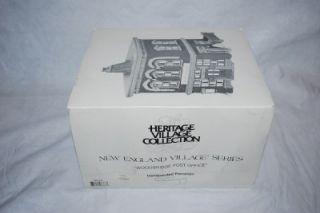 Dept 56 New England Village Christmas Woodbridge Post Office Lights 56572 in Box