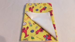 Adult Sissy Baby Diaper Lover 27x27 Diaper Changing Pad Elmo