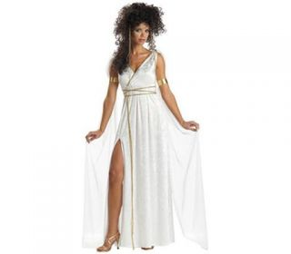 New Athenian Goddess Roman Greek Adult Costume s M L XL