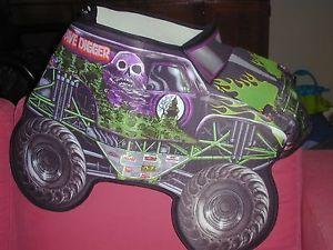 Monster Jam Grave Digger Truck Child Costume