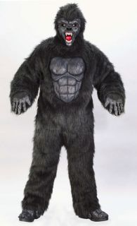 Ferocious Gorilla Adult Mens Costume Ape Monkey Animal Jungle Party Halloween