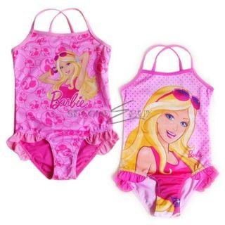 ... Girls Barbie Princess Swimwear Swimming Costume Kid Bathing Suit Swimsuit Sz 2 7 ...  sc 1 st  PopScreen & Barbie Princess Thank You Notes 8ct