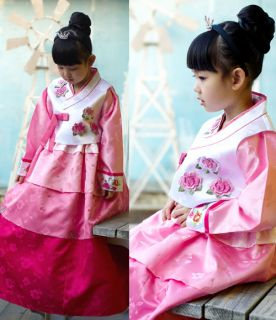 Korean Traditional Dress Girl