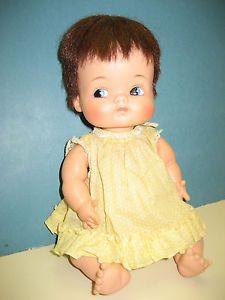"Vintage 1963 65 Madame Alexander 11"" Baby Doll Little Shavers Original Clothing"