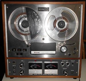 Teac A 4010S Reel to Reel Tape Recorder Player AR 40 Amp Auto Reverse Play