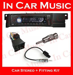 Bluetooth Radio CD  USB SD Aux Player BMW 3 Series E46 Car Stereo Kit