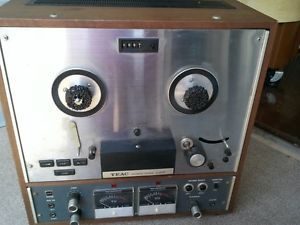Classic Teac Auto Reverse Reel to Reel Tape Recorder Player