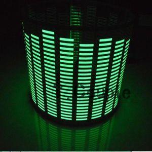 90x25cm Car Decal Sticker Music Rhythm LED Flash Light Sound Activated Equalizer