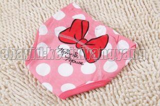1 PC 3 Layers Girls Toddler Potty Training Pants Cartton Underwear Size 80