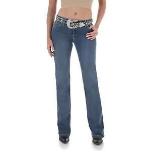 Wrangler Womens Ultimate Riding Jeans Day Dreamer Q Baby 11 x 30