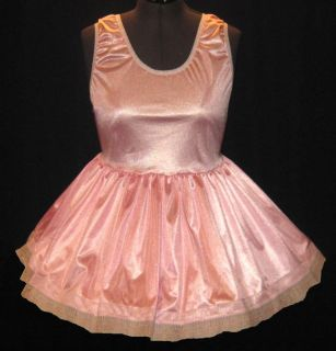 Pink Slip Adult Baby Sissy Dress Leanne