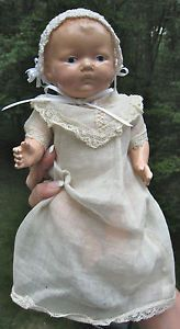 "Antique Composition Baby Doll 9"" Clothes Parts Body Dionne Quint Look Alike"