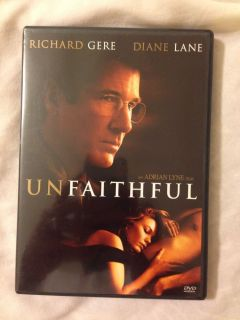 BGD Unfaithful DVD 2009 Widescreen Diane Lane Richard Gere