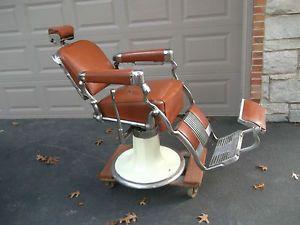Vintage Belmont Barber Chair Parts