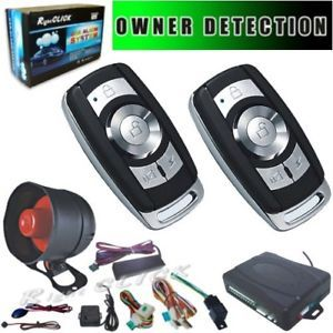 Car Alarm Auto Lock Unlock Owner Detection AL810 Upke