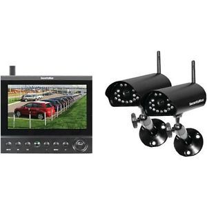 Wireless Security Camera System with DVR