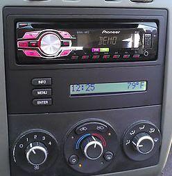 Pontiac G6 2008 Radio Dash Kit Single DIN Install w OnStar Digital Driver Rap