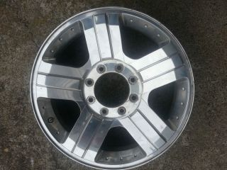 "Ford Harley Davidson 20"" Chrome Alloy Wheels Rims F250 F350 Cracked Repairable"