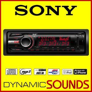 Sony CDX DAB700U Car DAB DAB DMB R Digital Radio CD  Player USB iPod iPhone