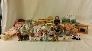 Big Lot Epoch Calico Critters 27 Critters 22 Furniture Accessories