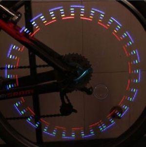 2013 New Bicycle Car 5 LED Flash Tire Wheel Light 32 Patterns Motorcycle Spoke
