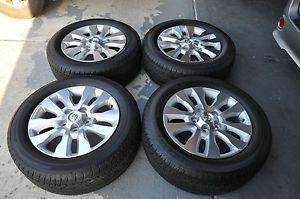 "Toyota Tundra Sequoia 20"" Rims Wheels Tires Only 100 Miles on Them"