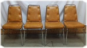 Recovering Retro Kitchen Chairs