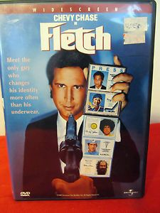 Fletch DVD Mint Chevy Chase Tim Matheson Dana Wheeler Nicholson Comedy 025192028526