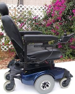 Blue Invacare Pronto M50 Electric Wheelchair Power Chair New Batteries