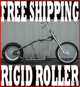 Chopper Rigid Bobber Frame Complete Rolling Chassis Kit Harley