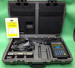 OTC Enhanced Monitor 4000 E Automotive Scan Tool with Accessories Case Manual