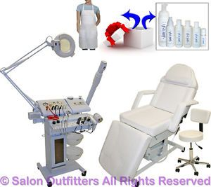 14 in 1 Microdermabrasion Facial Machine Electric Massage Chair Salon Equipment