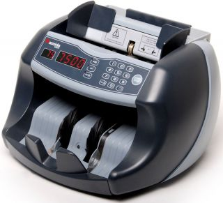 New 100 Bill Electric Money Counter Counterfeit Detector Counting Machine Cash