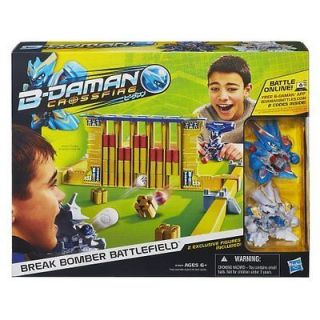 Hasbro A4464079 B Daman Crossfire Break Bomber Battlefield Set