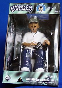 "144 Large 7"" Willie G Homies Action Figurines Wholesale Figure Wheel Chair"