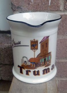 Royal Doulton Lambeth Truman's Advertising Beer Ale Pitcher Mug Jug RD 1924