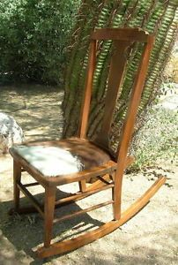 Admirable Rocking Chair Cowhide Cushion Heywood Brothers Wakefield Co Ncnpc Chair Design For Home Ncnpcorg