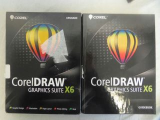 CorelDRAW Graphics Suite x6 Upgrade Serial Number with Media
