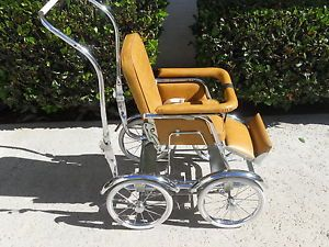 Vintage Baby Carriage Buggy Stroller by Wonda Chair Full Size
