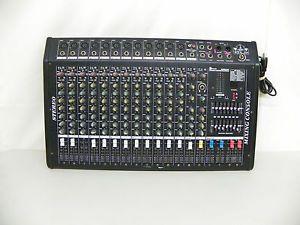 DJ Mixer Speakermax 202 Misblac B16 Professional Stereo Power Amplifier Mixer L