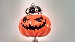 "Crazy RARE Southern Tier Brewery's ""Pumpking"" Pumpkin Ale Beer Tap Handle"