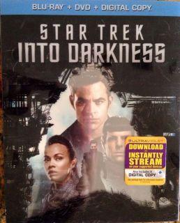 Star Trek Into Darkness Blu Ray DVD Digital Copy 2013 New SEALED 032429137302